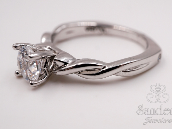 Twisting Engagement Ring by Valina