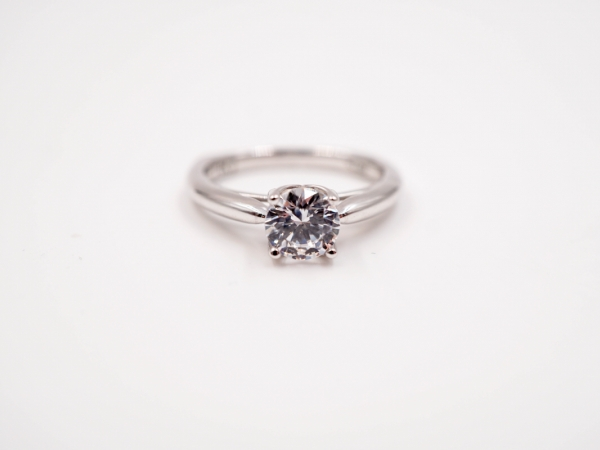 Solitaire Engagement Ring  by Valina
