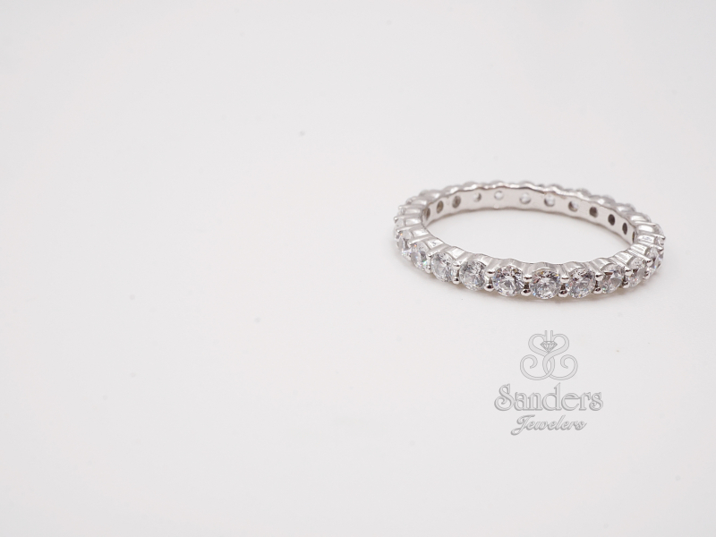Diamond Eternity Band by Caro 74