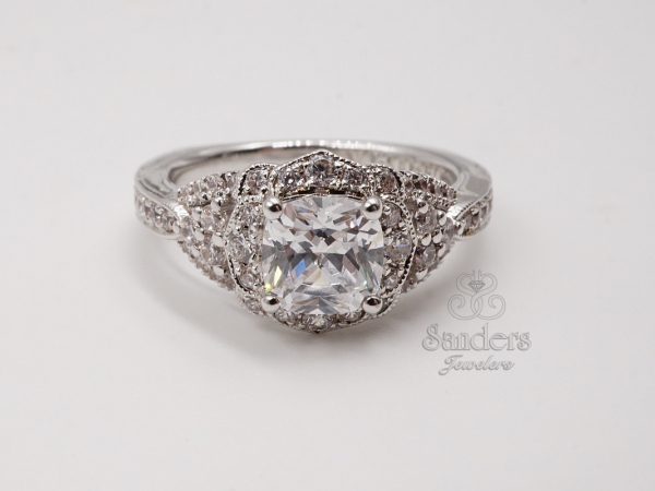 Vintage Inspired Engagement Ring by Valina